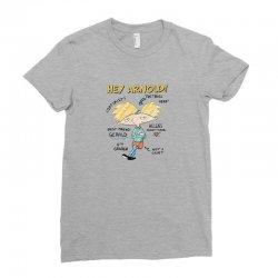 arnold Ladies Fitted T-Shirt   Artistshot