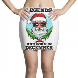 Legends are born in December Mini Skirts | Artistshot