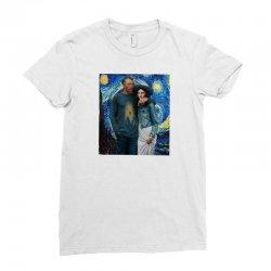 mona love Ladies Fitted T-Shirt | Artistshot