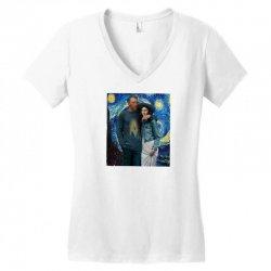 mona love Women's V-Neck T-Shirt | Artistshot