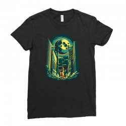 moon Ladies Fitted T-Shirt | Artistshot