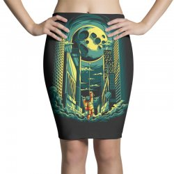 moon Pencil Skirts | Artistshot