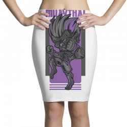 muaythai game Pencil Skirts | Artistshot