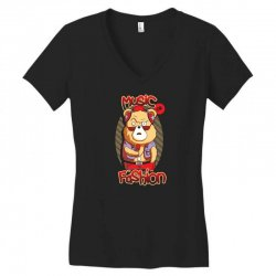 music or fashion Women's V-Neck T-Shirt | Artistshot