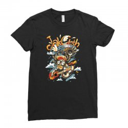 music with style Ladies Fitted T-Shirt   Artistshot