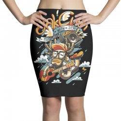 music with style Pencil Skirts   Artistshot