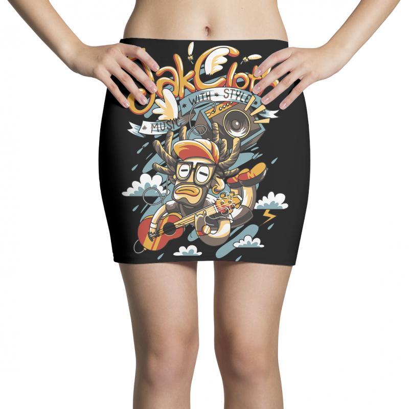 Music With Style Mini Skirts   Artistshot
