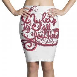 my love is all you need Pencil Skirts | Artistshot