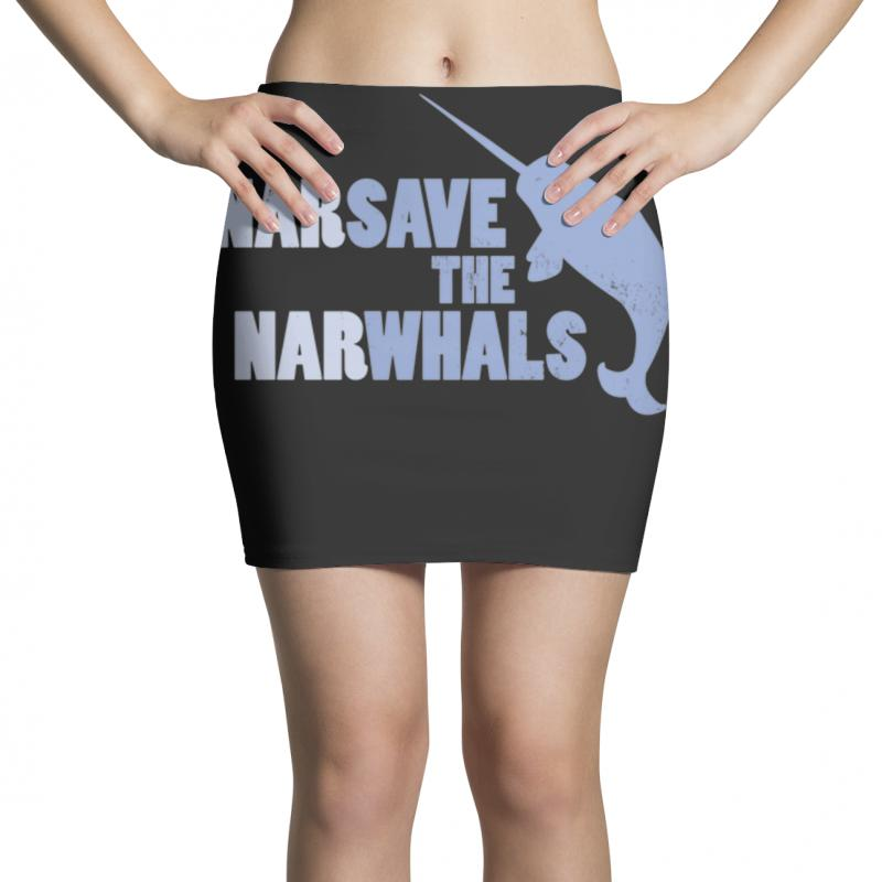 Narsave The Narwhales Mini Skirts | Artistshot