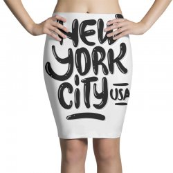 new york city usa (4) Pencil Skirts | Artistshot