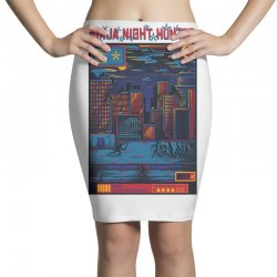 ninja night hunter Pencil Skirts | Artistshot
