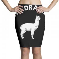 no drama llama Pencil Skirts   Artistshot
