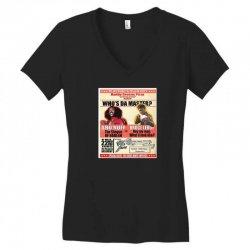 bruce Women's V-Neck T-Shirt | Artistshot