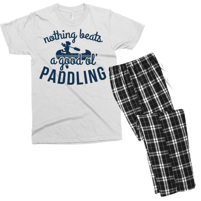 Nothing Beats A Good Ole Paddling Men's T-shirt Pajama Set | Artistshot