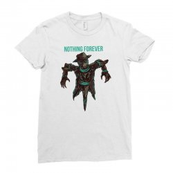 nothing forever Ladies Fitted T-Shirt   Artistshot
