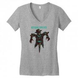 nothing forever Women's V-Neck T-Shirt   Artistshot