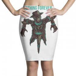 nothing forever Pencil Skirts   Artistshot