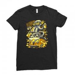 octopus Ladies Fitted T-Shirt   Artistshot