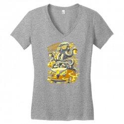 octopus Women's V-Neck T-Shirt   Artistshot