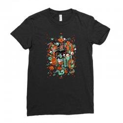 odysseus arms Ladies Fitted T-Shirt | Artistshot