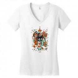 odysseus arms Women's V-Neck T-Shirt | Artistshot