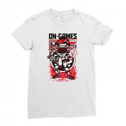on games Ladies Fitted T-Shirt   Artistshot