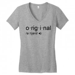 original Women's V-Neck T-Shirt | Artistshot