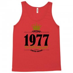 vintage 1977 and still looking good Tank Top | Artistshot