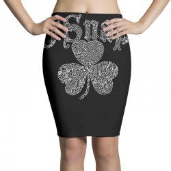 o'snap irish shamrock Pencil Skirts | Artistshot
