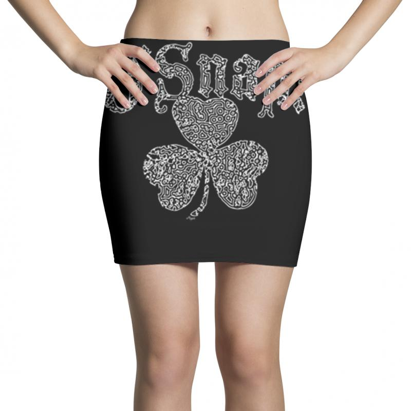 O'snap Irish Shamrock Mini Skirts | Artistshot