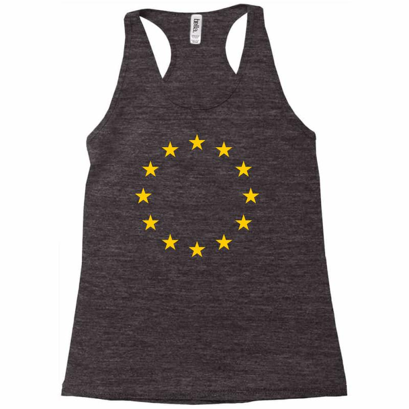 The Flag Of Europe Racerback Tank | Artistshot