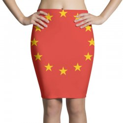 the flag of europe Pencil Skirts | Artistshot
