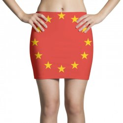 the flag of europe Mini Skirts | Artistshot