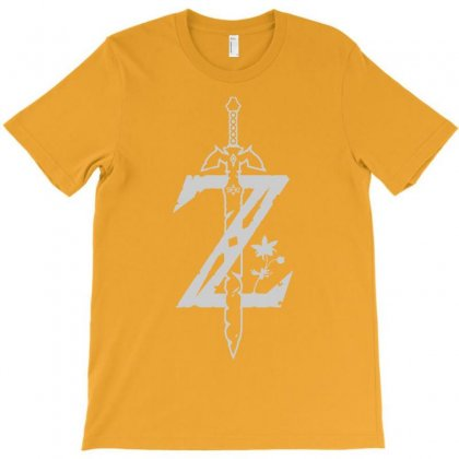 The Legend Of Zelda    Breath Of The Wild T-shirt Designed By Artwoman