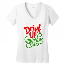 Drink up Grinches Women's V-Neck T-Shirt | Artistshot
