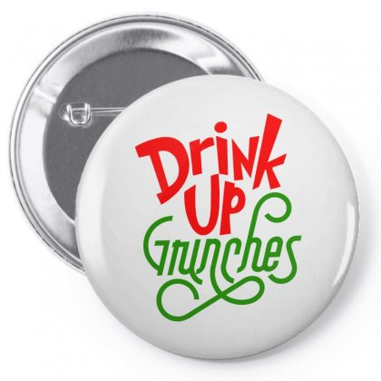 Drink Up Grinches Pin-back Button Designed By Tiococacola