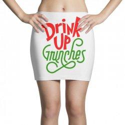 Drink up Grinches Mini Skirts | Artistshot