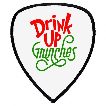 Drink Up Grinches Shield S Patch Designed By Tiococacola