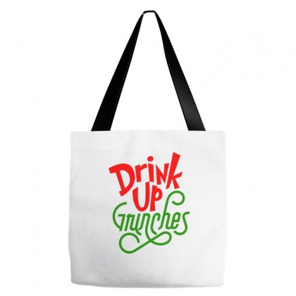 Drink Up Grinches Tote Bags Designed By Tiococacola