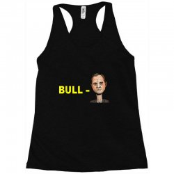 bull schiff funny donald trump meme Racerback Tank | Artistshot