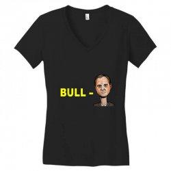 bull schiff funny donald trump meme Women's V-Neck T-Shirt | Artistshot