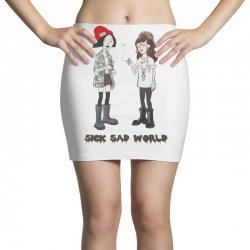 sad world Mini Skirts | Artistshot