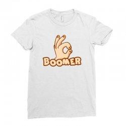 boomer Ladies Fitted T-Shirt | Artistshot