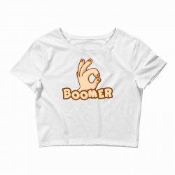 boomer Crop Top | Artistshot