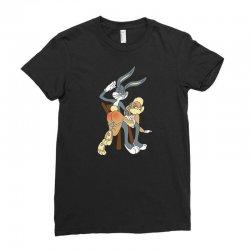 rabbit Ladies Fitted T-Shirt | Artistshot