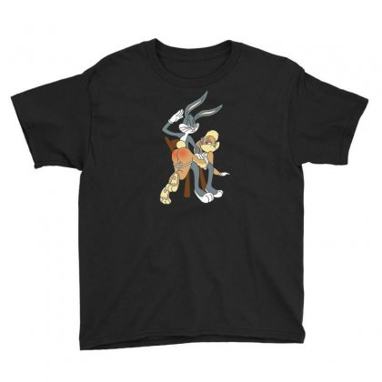 Rabbit Youth Tee Designed By Disgus_thing