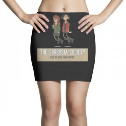 sarcasm Mini Skirts | Artistshot