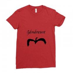 Généreux Ladies Fitted T-Shirt | Artistshot