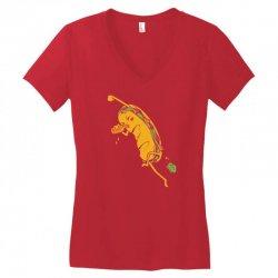 party sub Women's V-Neck T-Shirt   Artistshot