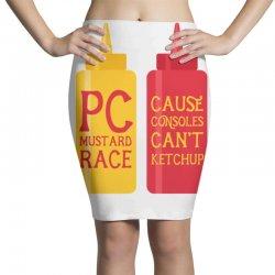 pc master race Pencil Skirts | Artistshot